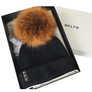 BKLYN bobble hat