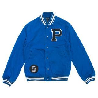 Polo Ralph Lauren Boy's Blue Cotton Bomber Jacket