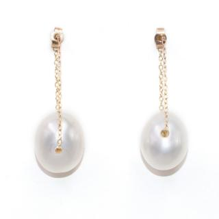 Gem and Tonic Gembuds Pearl Bud Earrings
