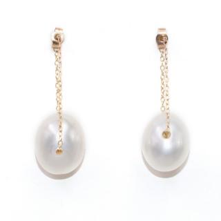 Gem and Tonic Gembuds Pearl Bud Earrings