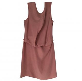Boss Hugo Boss Silk Pink Dress