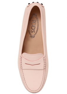 Tods Blush/Nude Gommino Driving Shoes