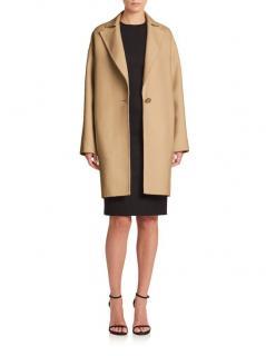 Caroline Herrera Icon Collection Single-button Dress Coat
