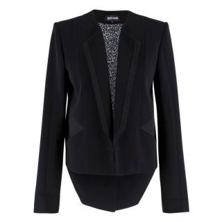 Just Cavalli Black Tailcoat Jacket