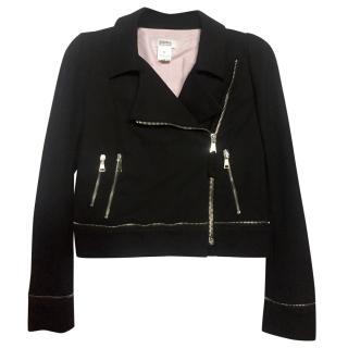 Sonia Sonia Rykiel Black Biker Jacket