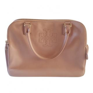 Tory Burch Pebbled Leather Tote Bag