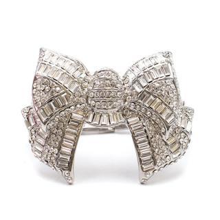 Butler & Wilson Crystal Bow Bracelet