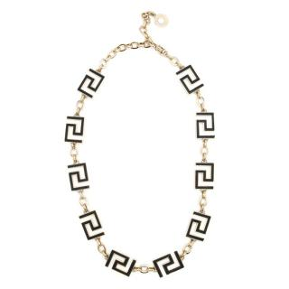 Versace Gold Maze Symbol Belt