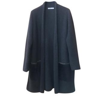 Fabiana Filippi cashmere-shearling coat