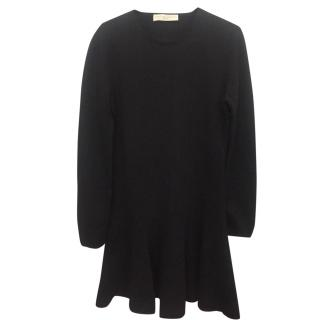Stella Mcartney Wool and Cashmere seamless fit n flare dress