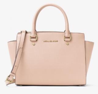 Michael Michael Kors Large Soft Pink Selma Bag