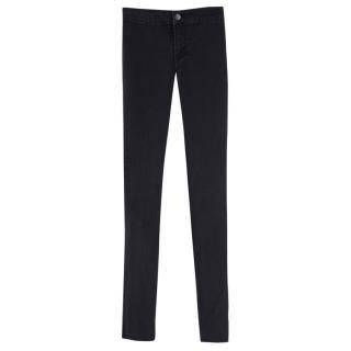 J Brand Black High-waisted Skinny Jeans