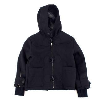 Stella McCartney Kids Navy Wool Coat