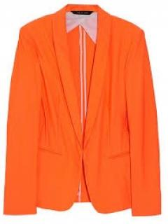Rag & Bone Neon Orange Blazer