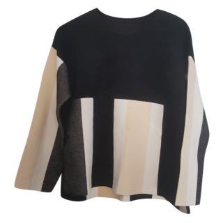 Max Mara Colour Block Pullover