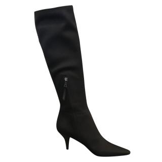 Prada Knee High Nylon Boots