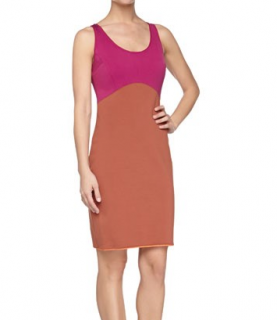 Halston Heritage Colorblock Bodycon Dress