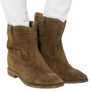 Isabel Marant �toile Crisi suede ankle boots