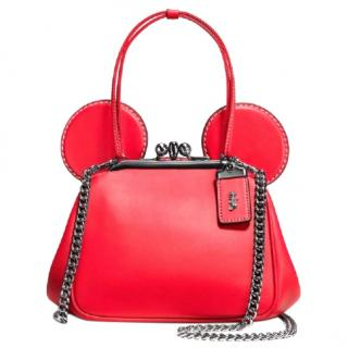 Coach x Disney Mickey Mouse Kisslock Bag