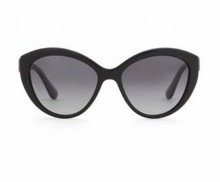 Dolce & Gabbana Black Cats Eye Sunglasses
