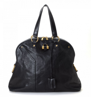 YSL Muse Leather Tote Bag
