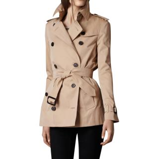 Burberry short Heritage trench coat