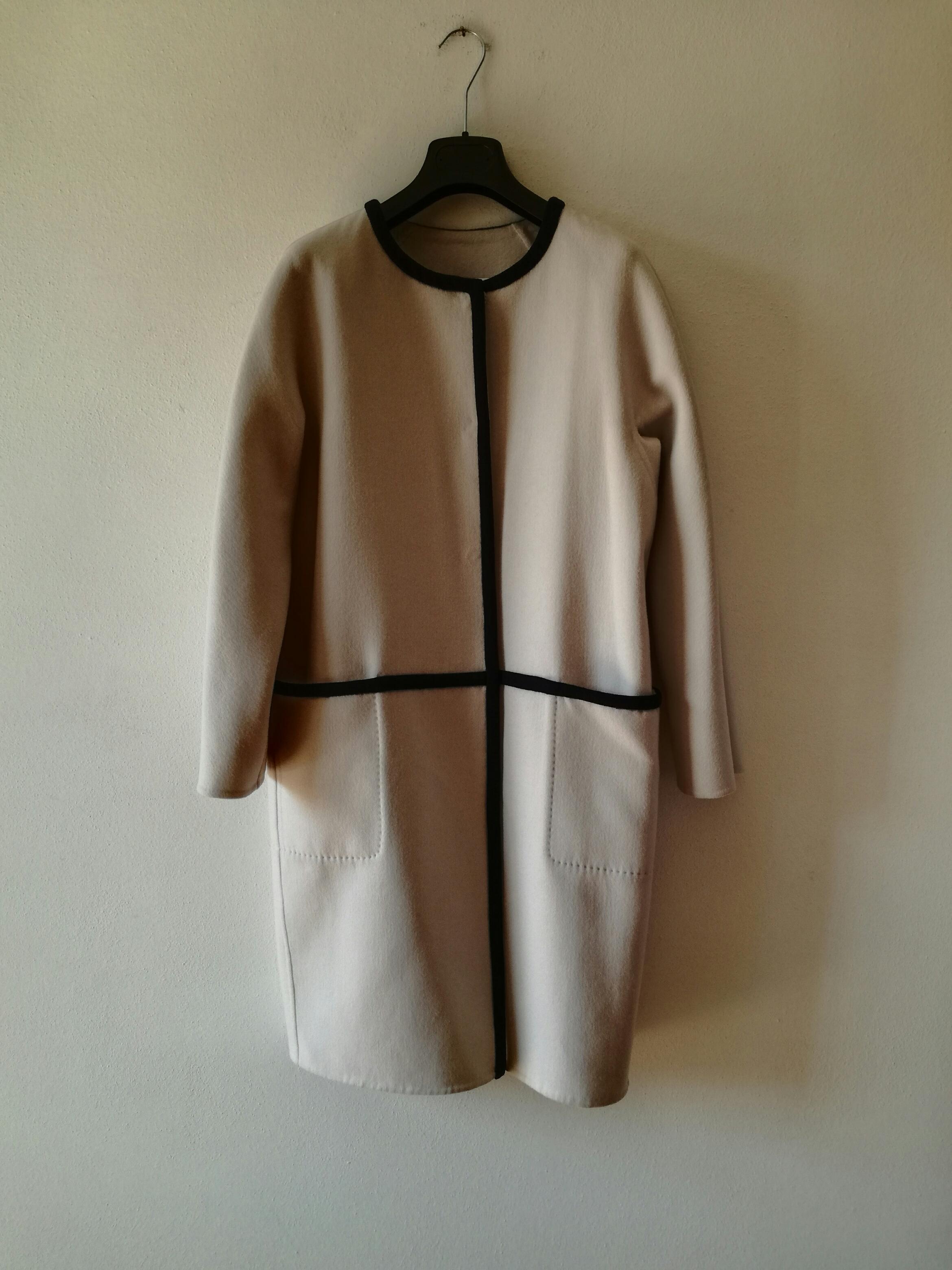 Max Mara Natural Savona Wool And Angora-blend Coat. 29. 123456 505678b17d8