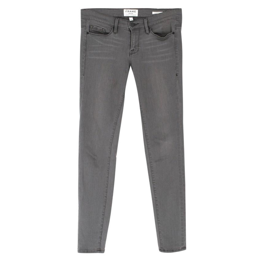 Frame Le Skinny de Jeanne Grey Jeans