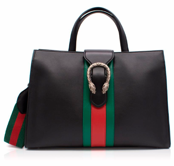 Gucci Dionysus Web-Stripe Top-Handle Bag