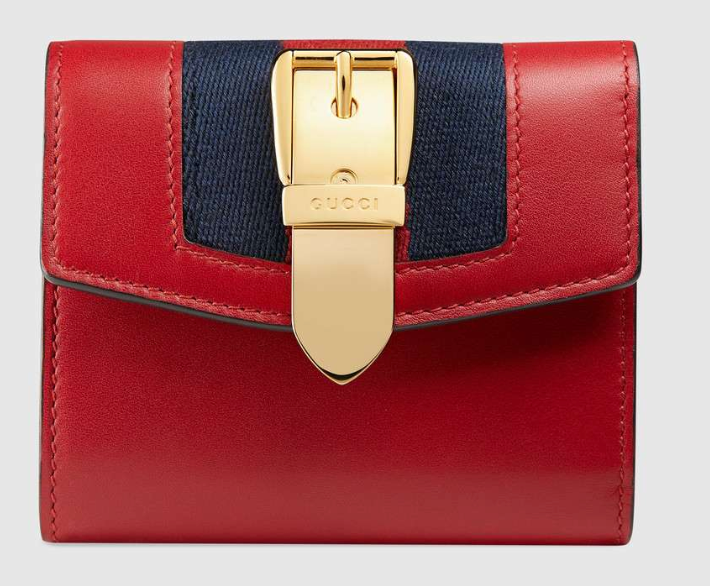 9074adae0e9d Gucci Sylvie Leather Wallet New Rrp 450 | HEWI London