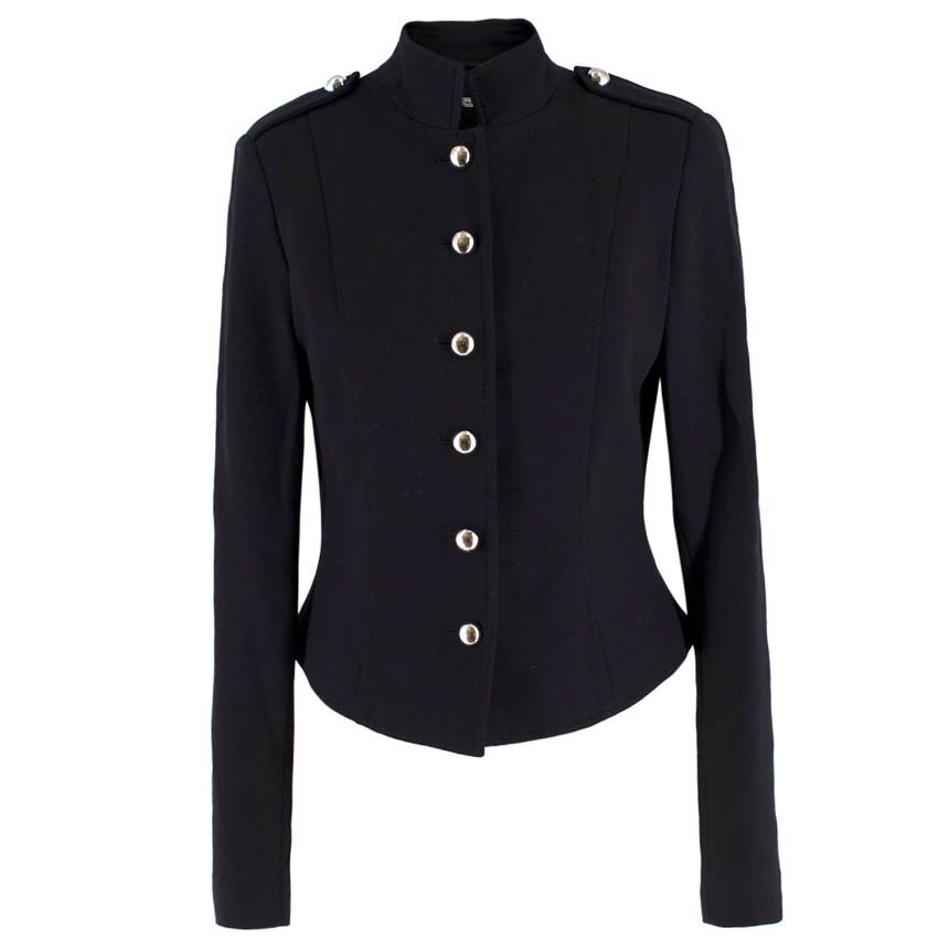 Wolford Black Military Jacket