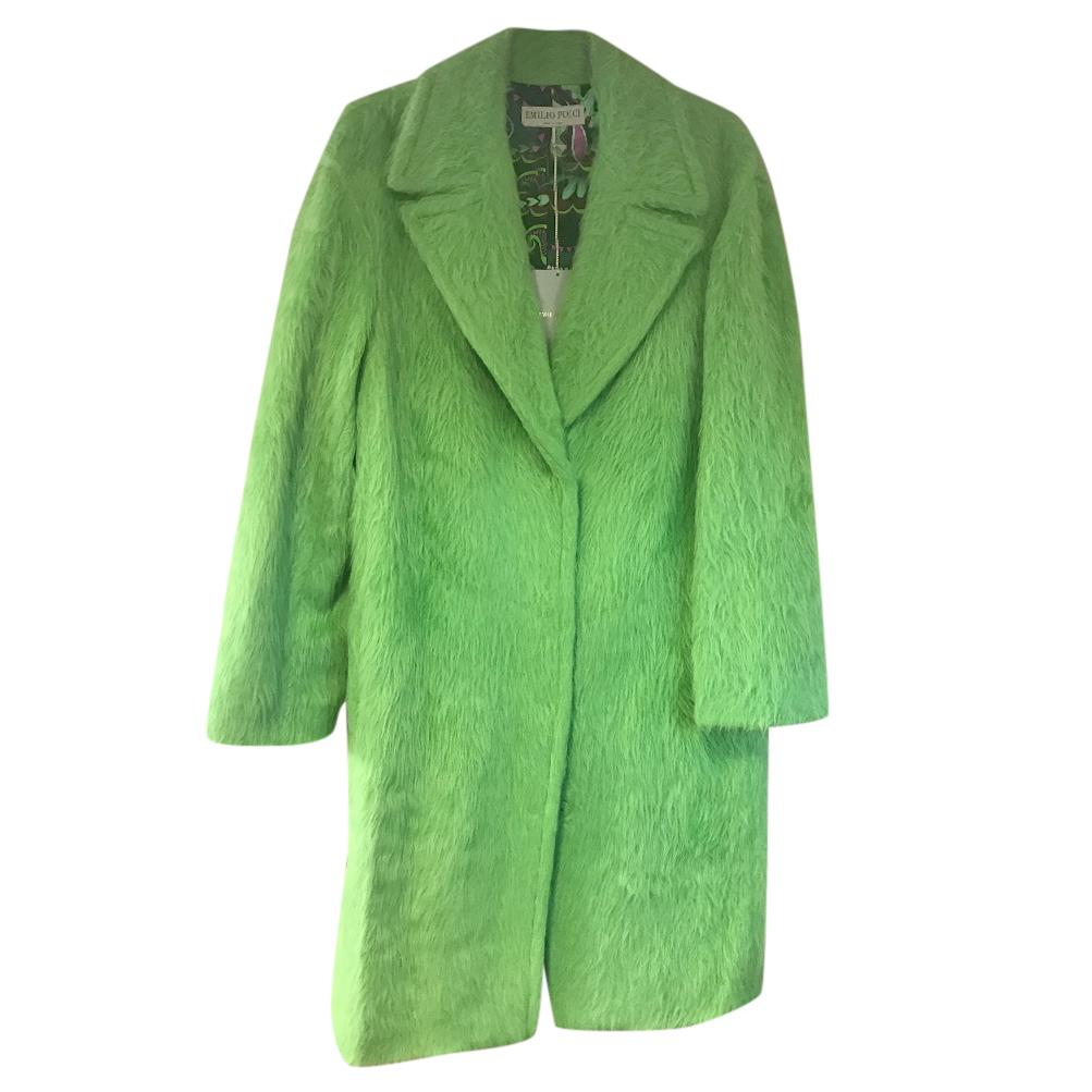 Emilio Pucci Alpaca & Wool Coat