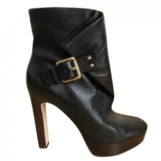 Michael Kors Buckle Ankle Boots
