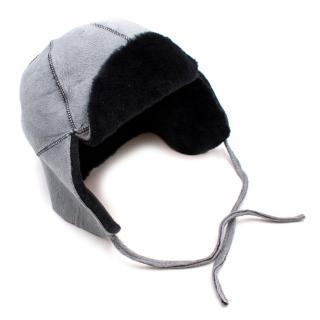 Bill Amberg Sheepskin Trapper Hat