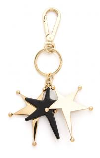 Marni star keychain with box & dust bag