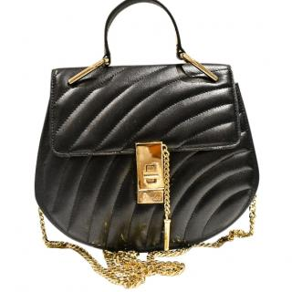 Feelos29 Black Quilted Sultan Bag