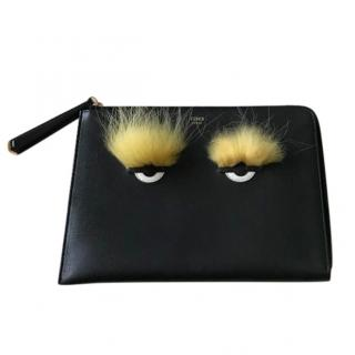Fendi Monster Fur Clutch Bag