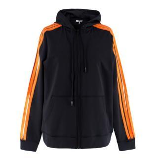 Ganni Presbourg zip up hoodie