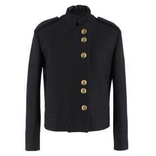 Gucci Black Military Wool Jacket