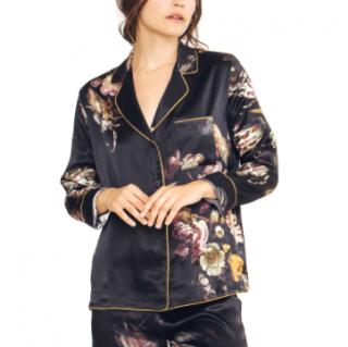 Morpho + Luna Agatha Silk Night Shirt