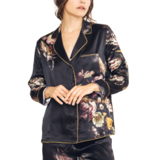 Morpho + Luna Agatha Silk Night Shirt
