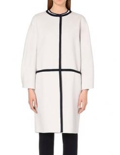 Max Mara Natural Savona Wool And Angora-blend Coat