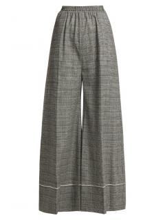 Racil-Korin high-rise wool-blend trousers