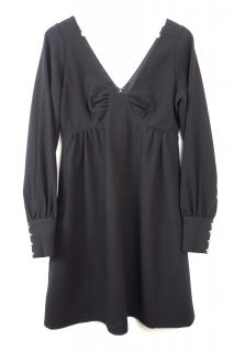 Tibi Black Mini Dress