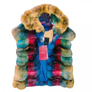 Bespoke Chinchilla Fur Vest