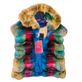 Bespoke Chinchilla Fur Vest