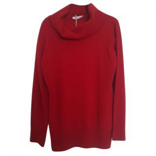 Max Mara virgin wool turtleneck jumper