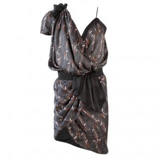 Isabel Marant Asymmetric Wrap Dress