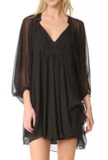 Diane Von Furstenberg 'Fleurette' Silk-Chiffon Dress