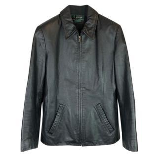 Lauren Ralph Lauren Leather Blouson Jacket